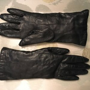 Napa Leather Cashmere Lined Gloves